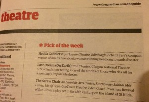 Guardian Pick of the Week
